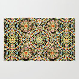 Flower Crown Bohemian Rug