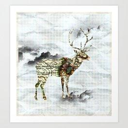 I lost my home. Art Print