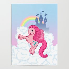 g2 my little pony Princess Twinkle Star at royal castle Poster