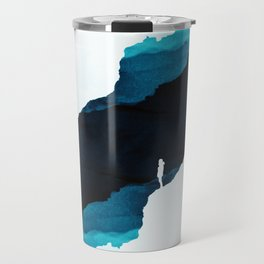 Teal Isolation Travel Mug