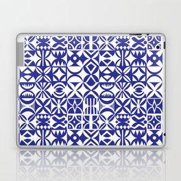 Geometric hydraulic tiles Laptop & iPad Skin