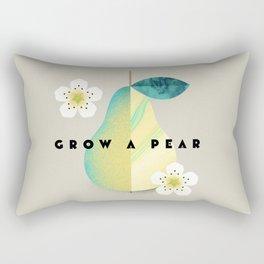 Grow a Pear Rectangular Pillow