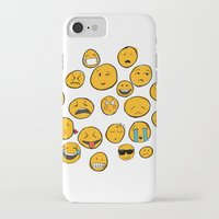 emoji iPhone & iPod Cases featuring Emoji Family by Jason Travis