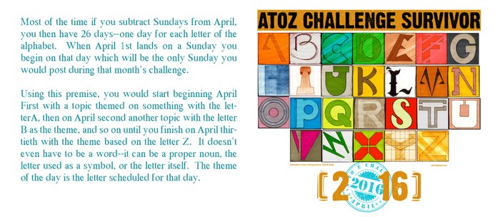 A to Z Challenge SURVIVOR [2016] - MUG Coffee Mug