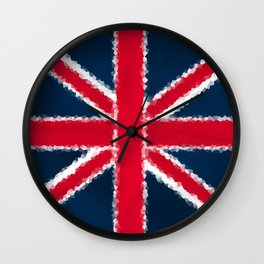 The flag of England Wall Clock