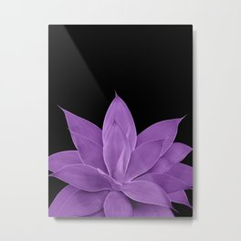 Purple Agave #1 #tropical #decor #art #society6 Metal Print