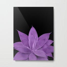 Purple Agave #1 #tropical #decor #art #society6 Metal Print