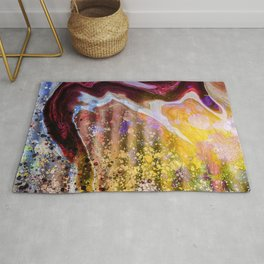 Marble Grease Rug