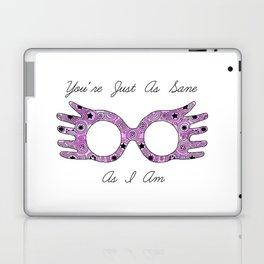 Just as Sane as I Am Laptop & iPad Skin