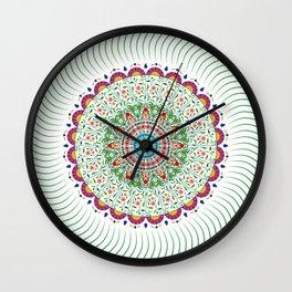 BOHEMIAN MANDALA CIRCLE DESIGN Wall Clock