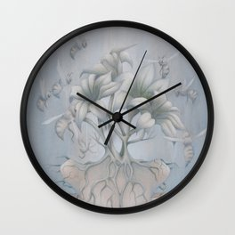 Apiphobia Wall Clock