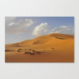 Sahara desert. Canvas Print