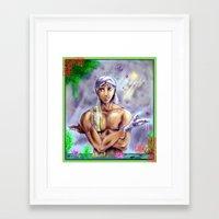 kuroshitsuji Framed Art Prints featuring Agni San by Furiarossa