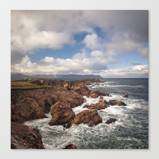 White Point Canvas Print