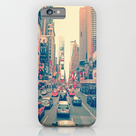 Times Square Traffic iPhone & iPod Case