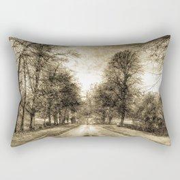 Greenwich Park London Vintage Rectangular Pillow