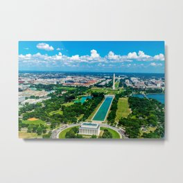 DC from Above Metal Print