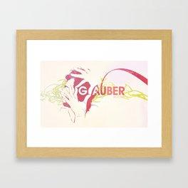 Glauber Rocha Framed Art Print
