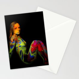 Paint Me Nude Stationery Cards