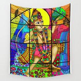 Hanuman Wall Tapestry