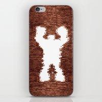 wreck it ralph iPhone & iPod Skins featuring Wreck It - Ralph by albert Junior