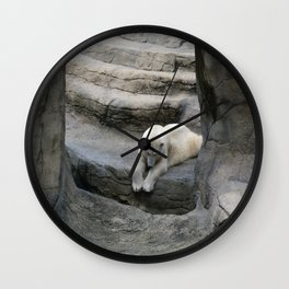 I Wonder if anyone is down There? Wall Clock