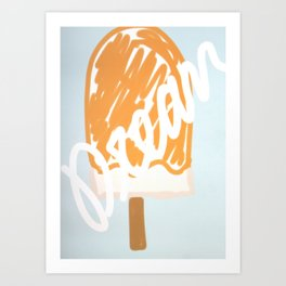 dreamsicle Art Print