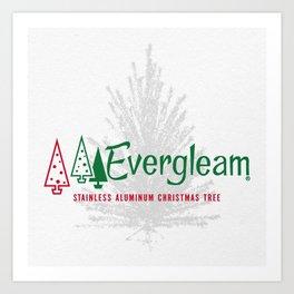 Evergleaming Art Print