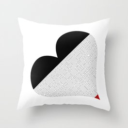Heart (14) Throw Pillow