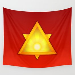 A Golden Dawn Wall Tapestry