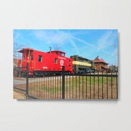 Hamlet Train Depot And Museum Metal Print