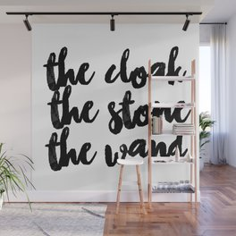 The Cloak The Stone The Wand Wall Mural