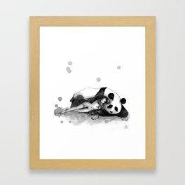 The rest Framed Art Print