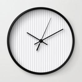 Grey Harbour Mist Mattress Ticking 2018 London Fashion Color Wall Clock