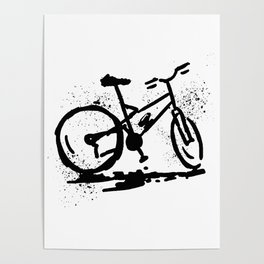 Rest bike Poster