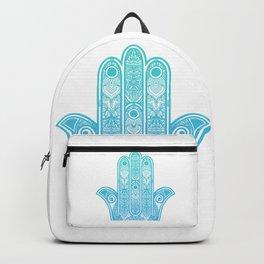 Hamsa Hand of Fatima Backpack