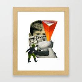 Start The Journey Framed Art Print