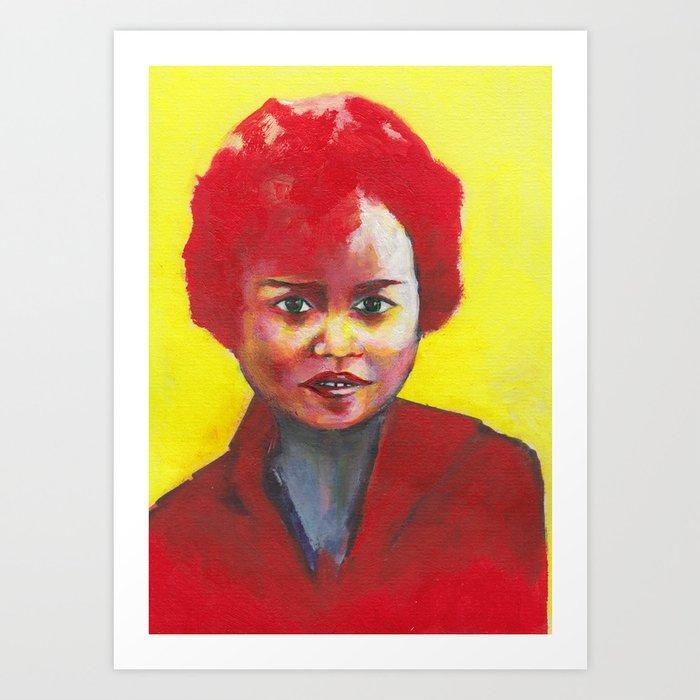 Nos étrangers 19 Art Print