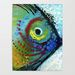 Tropical Fish - Colorful Beach Art By Sharon Cummings Poster