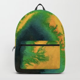 Angry Avocado Abstract Backpack