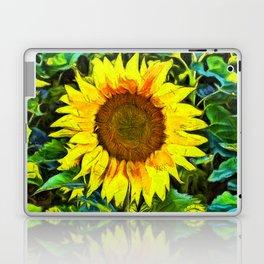 The Sunflower Laptop & iPad Skin