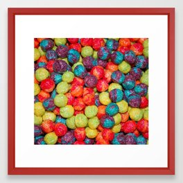 Cereal Framed Art Print