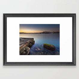 Hospital Harbour Framed Art Print
