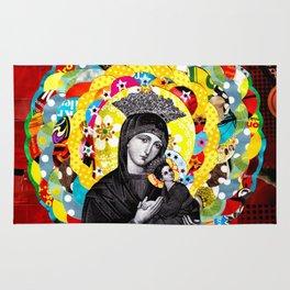 Nossa Senhora do Perpétuo Socorro (Our Lady of Perpetual Help) Rug