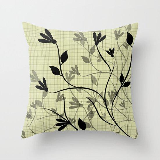 Whispering Breeze Throw Pillow