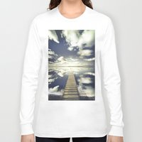outdoor Long Sleeve T-shirts featuring Vanity by HappyMelvin