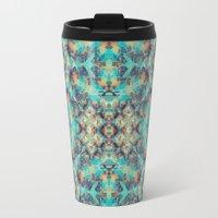 Geometric Kaleidoscope Travel Mug