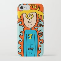 super hero iPhone & iPod Cases featuring Joe Pansa Super Hero by Joe Pansa