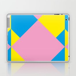 Cool polygons, and squares, and things that looks 3d but they aren't, and tiny mistakes in R corner. Laptop & iPad Skin
