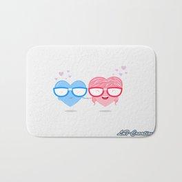 Nerd Love #1 Bath Mat